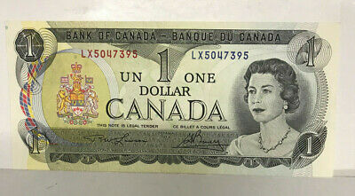 Canada  1973 One Dollar Excellent High Grade ..Scarce Date
