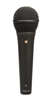 Rode M1 Live Performance Stage Dynamic Cardioid 3-Pin XLR Handheld Microphone
