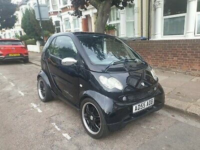 2005 Smart Fortwo 0.7 Brabus Nightrun 2 Door Black F1 Paddle Gears - New Mot