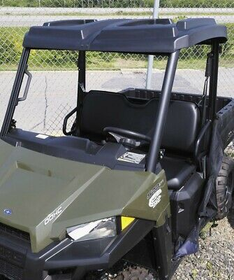 QuadBoss 2-Piece Polaris Ranger Roof with Cargo Storage VPRE-POL0101BK