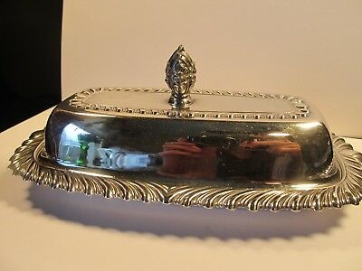 Vintage to Antique? Silver Plate Covered Butter Dish