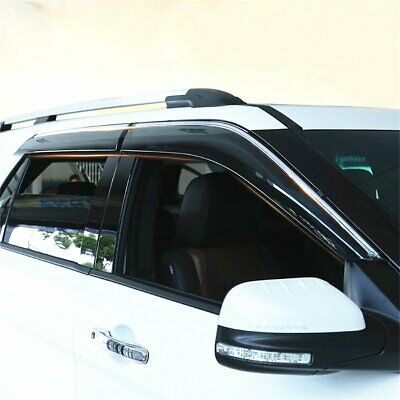 For ford Explorer 2011-19 Side Window Visor Rain Sun Deflectors Guard Vent Shade