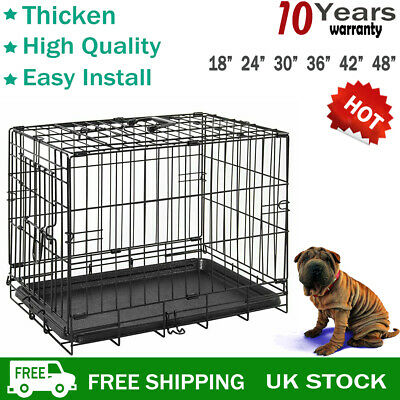Pet Dog Cat Puppy Portable Travel Carry Carrier Tote Cage Bag Crates Kennel Fold