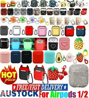 Cute Cartoon Silicone AirpOD Protective Case Cover Skin For Apple AirpODs 1 2 I%