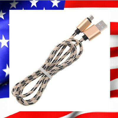 Cable Usb Type-C Chargeur Samsung Galaxy S8 S9 Plus Note 8 Renforce 1M Gold