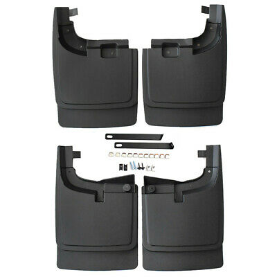 For FORD F-250//350 1999-10 Mud Flaps without Fender Flares Guards Splash Guard