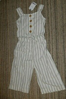 NEXT Girls linen jumpsuit/playsuit  Age 4 years New