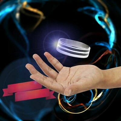 1PC Magic Ring Tricks Play Ball Floating Invisible Stage Props Kids Favor Gifts