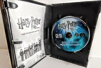 Harry Potter and the Order of the Phoenix PC CD Game CD Rom 2005 Windows XP/2000