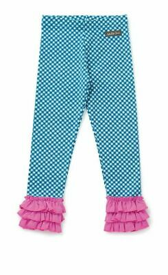 Matilda Jane sz 6  girl Leggings Strike A Pose Make Believe check Ruffle