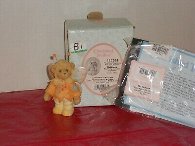 Girl with Pink Dress Marian You/'re The Hero Of My Heart Cherished Teddies