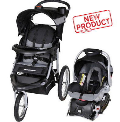 Baby Stroller & Car Seat Set Portable Infant Travel Safety Adjustable Chair NEW