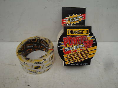 Everbuild 50Mm X 2.5M Double Sided Power Grip  Self Adhesive Mammoth Tape