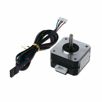 Stepper Motor 12V 42x42x23mm 4 Lead 2 Phase 4 Wires Cable For 3D Printer Reprap