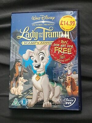 Lady And The Tramp 2 Scamp S Adventure Dvd 2006 New Sealed 4 95 Picclick Uk
