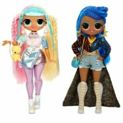 LOL Surprise OMG CANDYLICIOUS and MISS INDEPENDENT Dolls L.O.L. O.M.G. Series 2