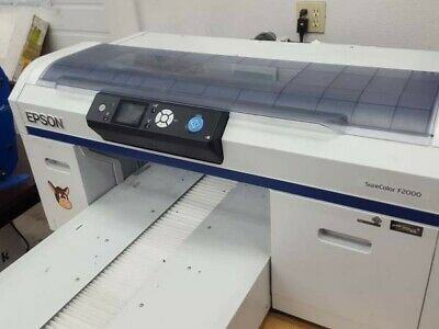 Epson F2000 DTG Tee Shirt Printer - Works Perfectly