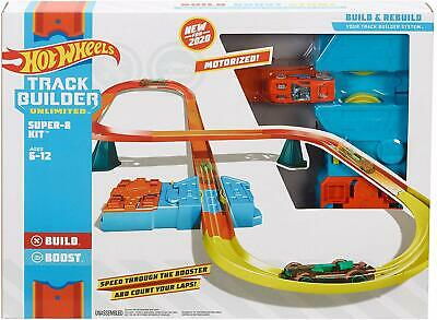 Hot Wheels id Track Builder Figure 8 Kit PRE-ORDER NEW BEST TOY FOR CARS 2020