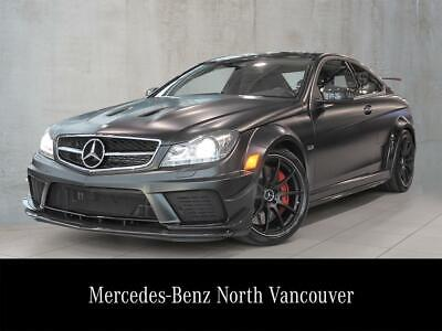 2012 Mercedes-Benz C63 AMG Coupe Black Series - 33,700 KMS! 2012 Mercedes-Benz C63 AMG Coupe Black Series - 33,700 KMS!