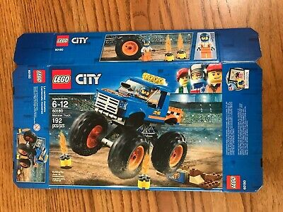 LEGO Empty Box Only:No Pieces Or Instructions 60180 City Monster Truck