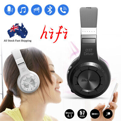 Bluedio Wireless Headphones Stereo Bluetooth 4.1 Headsets with Mic Durable New