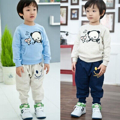 Popular Kids Boys Clothes Harem Pants Baby Jogger Cartoon Trousers Bottoms 3Y-8Y