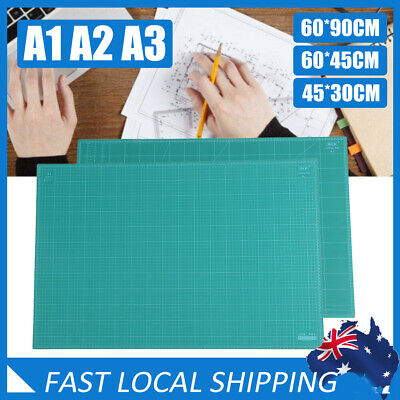 A1 A2 A3 Non-slip Thick Self Healing Cutting Mat Double-Side Board DIY AU SELLER
