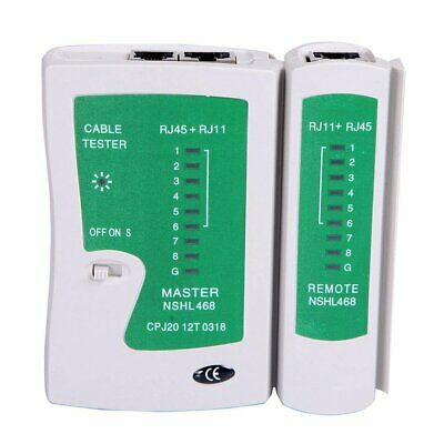 Data Ethernet Network LAN RJ45 CAT5e RJ11 RJ12 PC Wired Cable Tester tools PX