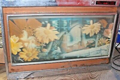 ROWE AMI MM4 Trimount 1970 JUKEBOX Frame-able Art-Lower front panel(nude woman)