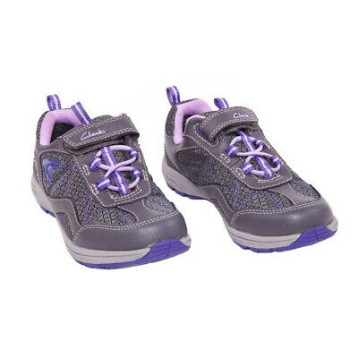Girls Clarks Gore-Tex Sneakers Shoes Size 9 Toddler Little Kid