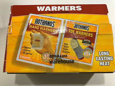 Hot Hands Htwcmb32 Hothands 32Ct Hand And Toe Warmers Combo