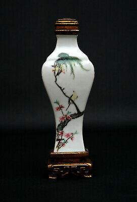 Antique Chinese Republic Porcelain Vase Signed