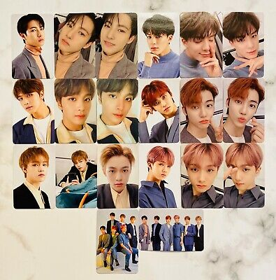 NCT DREAM TOUR THE DREAM SHOW FORTUNE SCRATCH PHOTO CARDS OFFICIAL nctdream