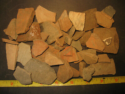 Pre-Columbian Terra-Cotta Pottery Shard Lot, Apaseo Grande Mexico, #PC1