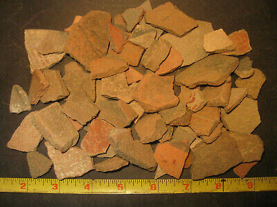 Pre-Columbian Terra-Cotta Pottery Shard Lot, Apaseo Grande Mexico, #PC2