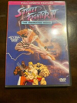 Street Fighter 2 Animated Movie Dvd 27 99 Picclick