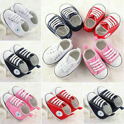 Baby Kids Girl Boy Soft Sole Crib Shoes Toddler Newborn Sneakers Shoes Anti-slip