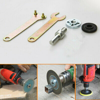 Disc Holder Angle Die Grinder Drill Wrench Nut Mandrel Spanner Adapter Tools