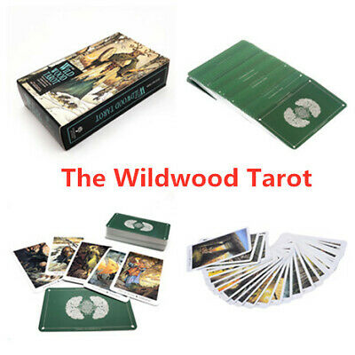 78 Cards The Wildwood Tarot Card Deck Vintage Antique Fortune Telling Boxed Game