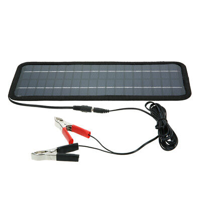 12V Car Boat Solar Power Panel Battery Charger Backup Outdoor Portable