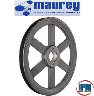 "9.75/"" DIAMETER 1-7//16/"" BORE 1 GROOVE V-BELT PULLEY 1-BK100-J"