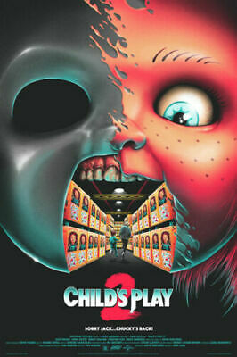 P932 Child's Play Classic Horror Movie Series Art Silk Poster