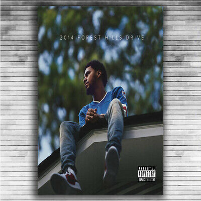 J COLE 12X24 POSTER HIP HOP RAP MUSIC R/&B SONGWRITER MIDDLE CHILD KOD GIFT COOL!