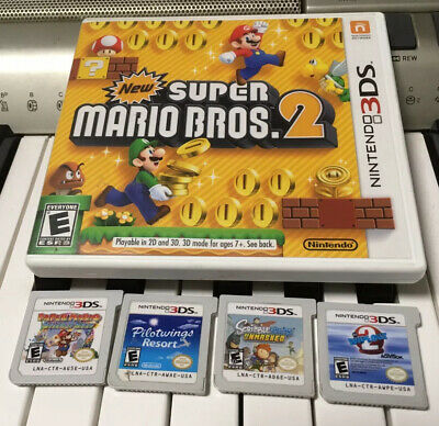 Nintendo 3DS DS 2DS Video Game Cartridge Lot - Great Condition - You Choose!
