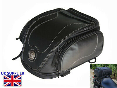 Tail Bag for Indian Scout Chief Roadmaster - Expandable - 12 Litre