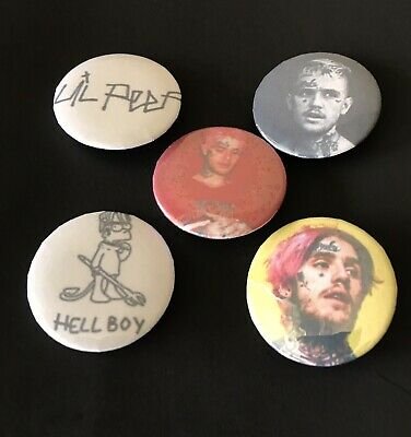 Lil Peep - Button Pin Badge - BRAND NEW! Ships FAST!