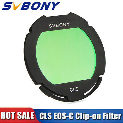CLS deep sky Clip-on Filters for Canon EOS Cameras for Astrophotography better