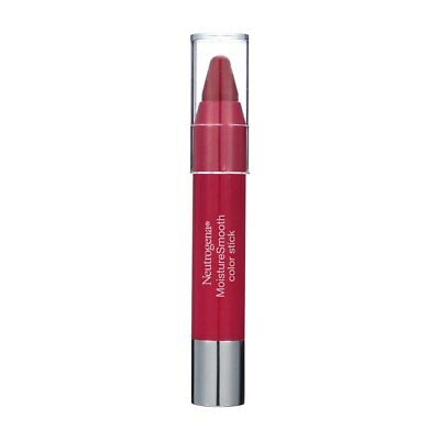 4 Pack Neutrogena MoistureSmooth Color Stick, Cherry Pink 150, 0.011 oz