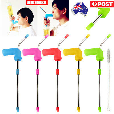 Beer Snorkel Bong0 Funnel Drinking Straw Games Hens Bucks Party Entertainment