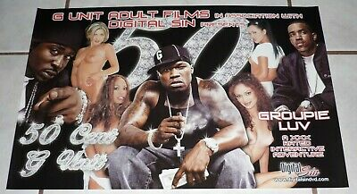 G UNIT 50 CENT LLOYD BANKS YOUNG BUCK Very rare Groupie Luv Poster! Love